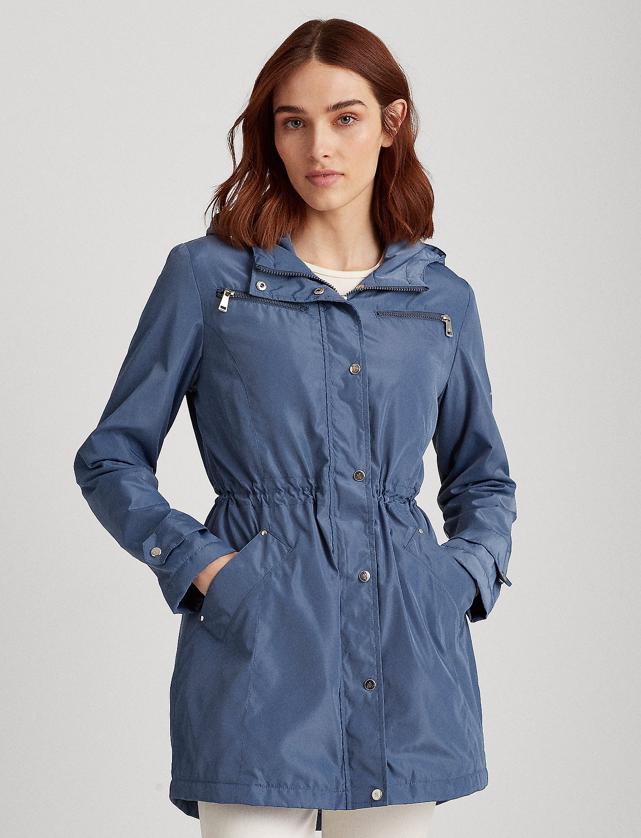 Lauren Ralph Lauren - Anorak Jacket - parkacoats - slate blue - 0