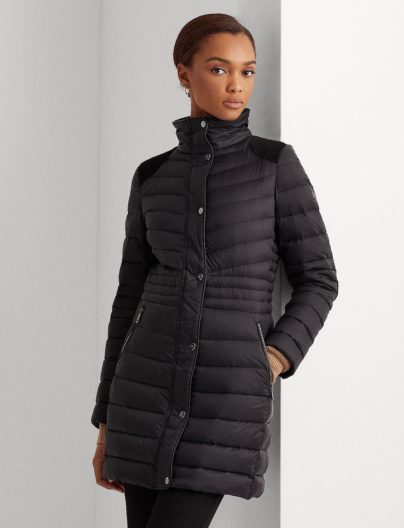 Lauren Ralph Lauren - Quilted Down Jacket - black - 0