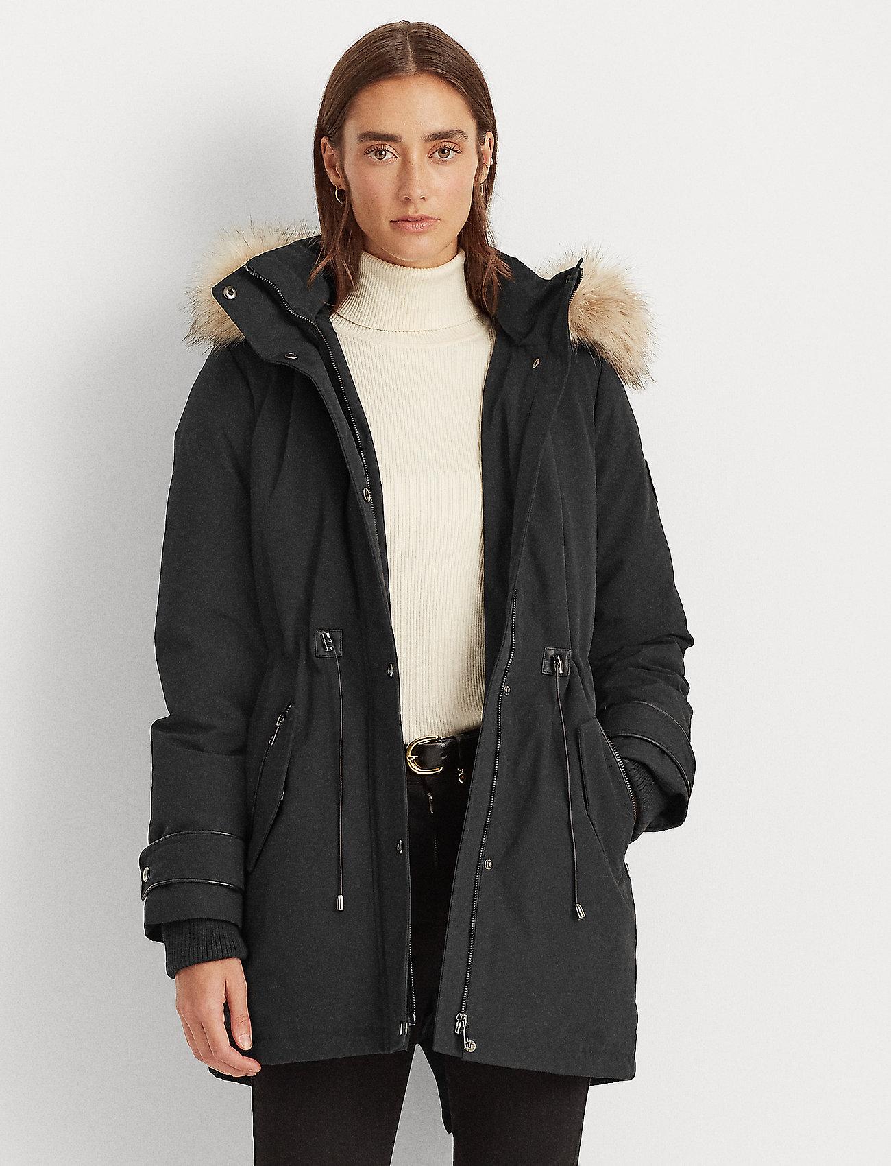 Lauren Ralph Lauren - Hooded Parka Coat - parkacoats - black - 0