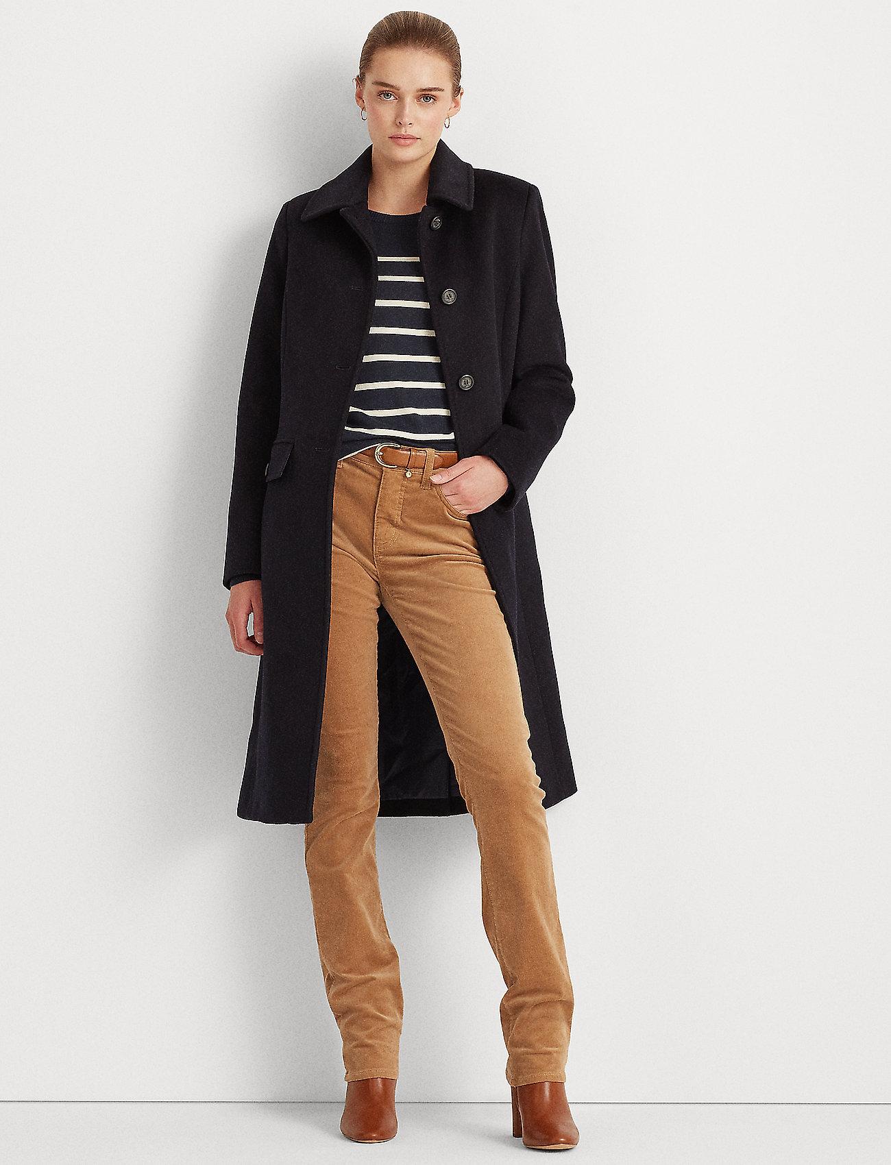 Lauren Ralph Lauren - Wool-Cashmere Coat - uldfrakker - regal navy - 0