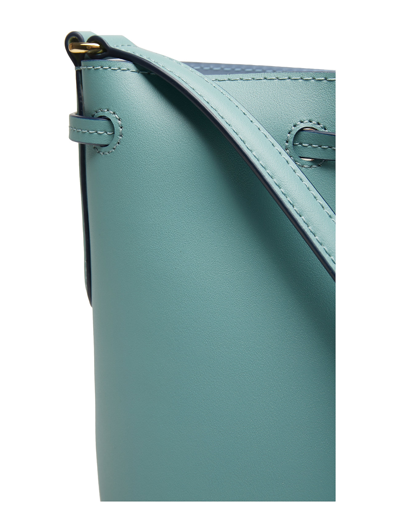 Drawstring Bagseafoam Debby Leather Ii Ralph MistLauren Mini blue IeDYEW2H9