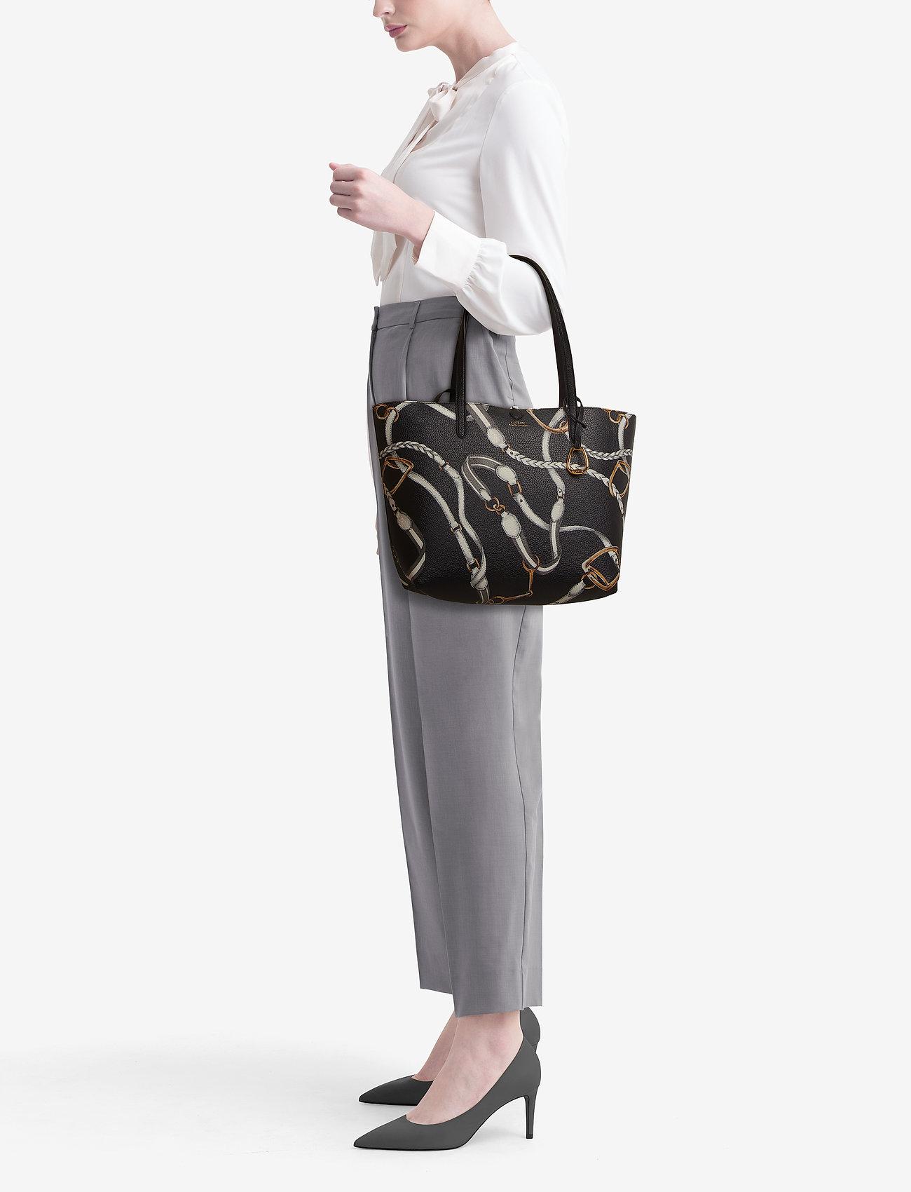 Lauren Ralph Lauren Reversible Faux Leather Tote