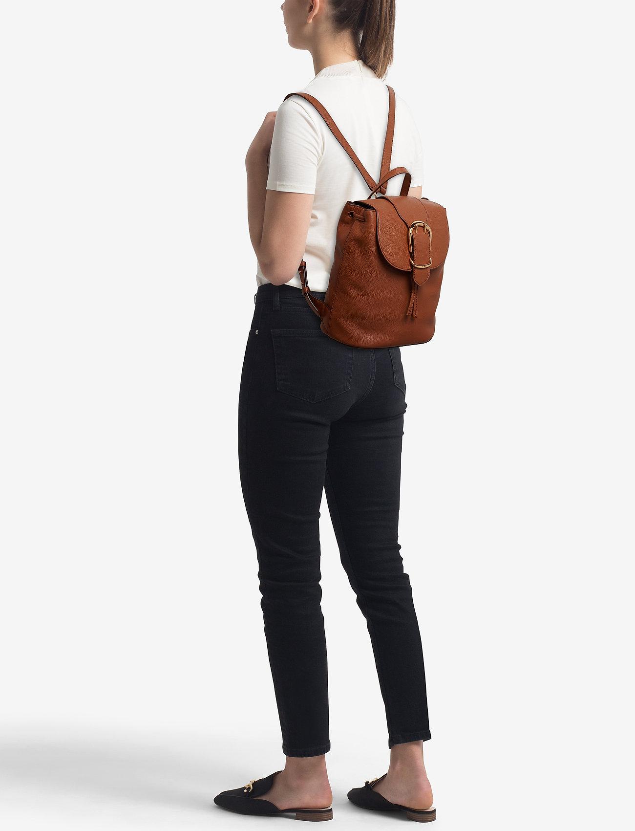 Lauren Ralph Lauren Pebbled Leather Backpack