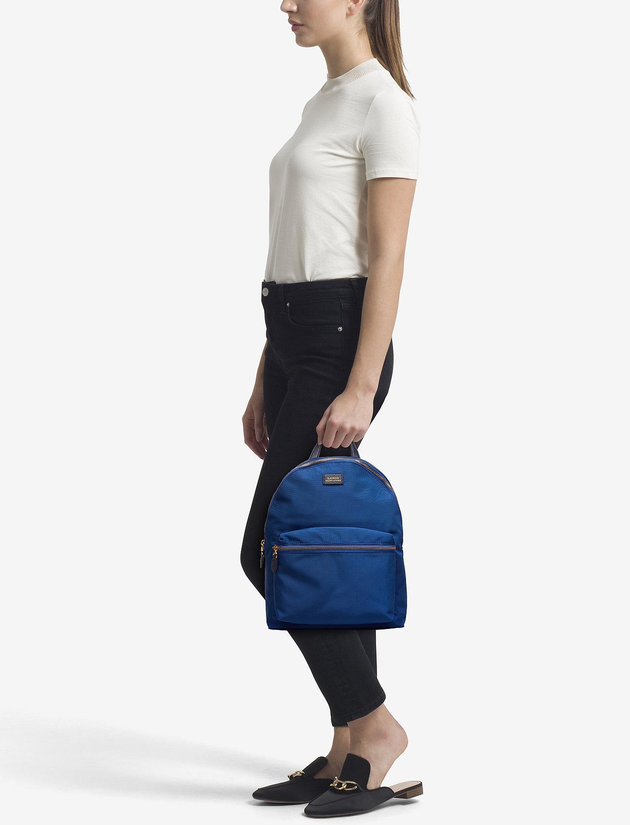 Lauren Ralph Lauren Nylon Backpack - COSMIC BLUE