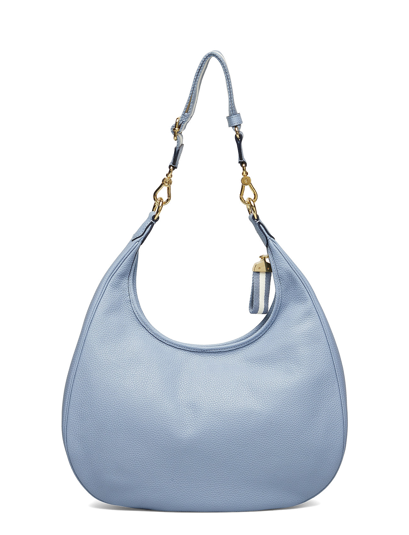 MistLauren Pebbled Bagblue Hobo Ralph Leather QrhxstdC