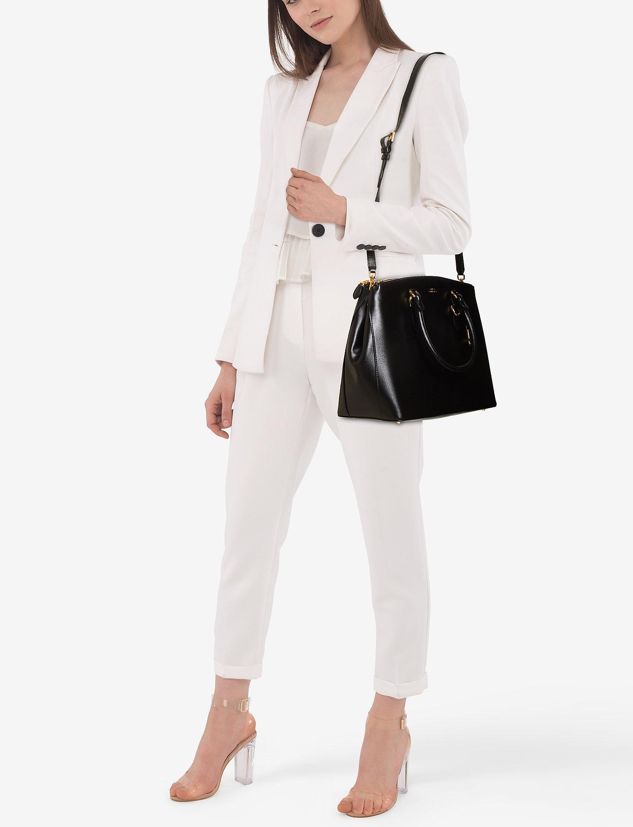 Lauren Ralph Lauren Leather Double-Zip Satchel