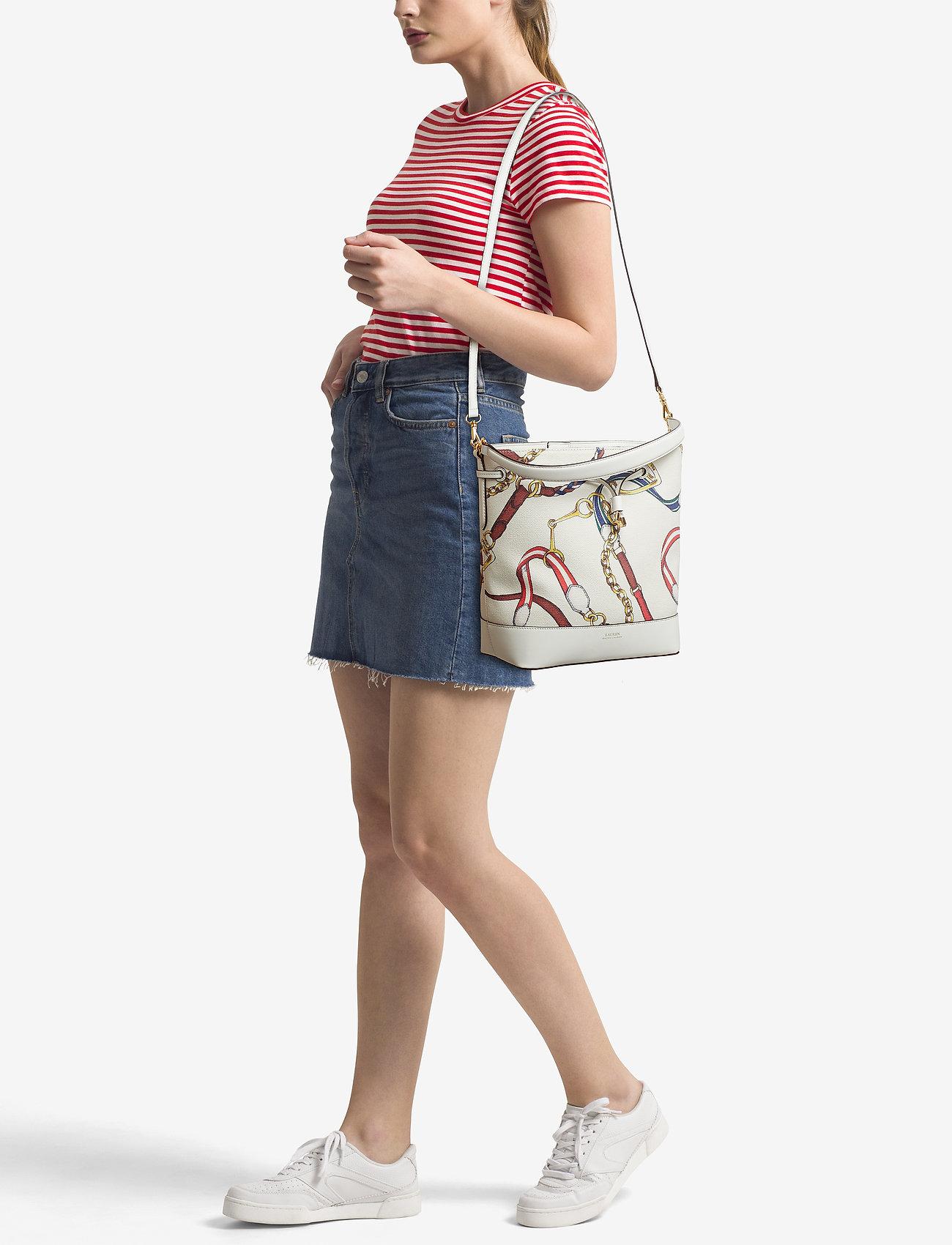 Lauren Ralph Lauren Canvas Debby Drawstring Bag