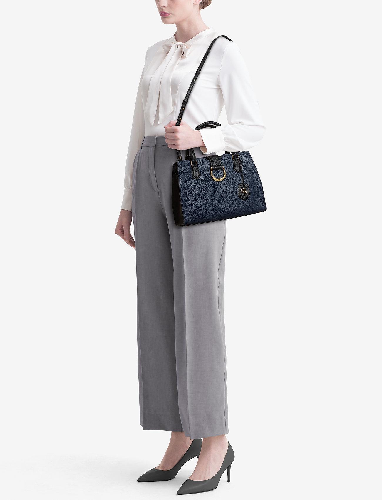 Lauren Ralph Lauren Medium Pebbled Leather Satchel