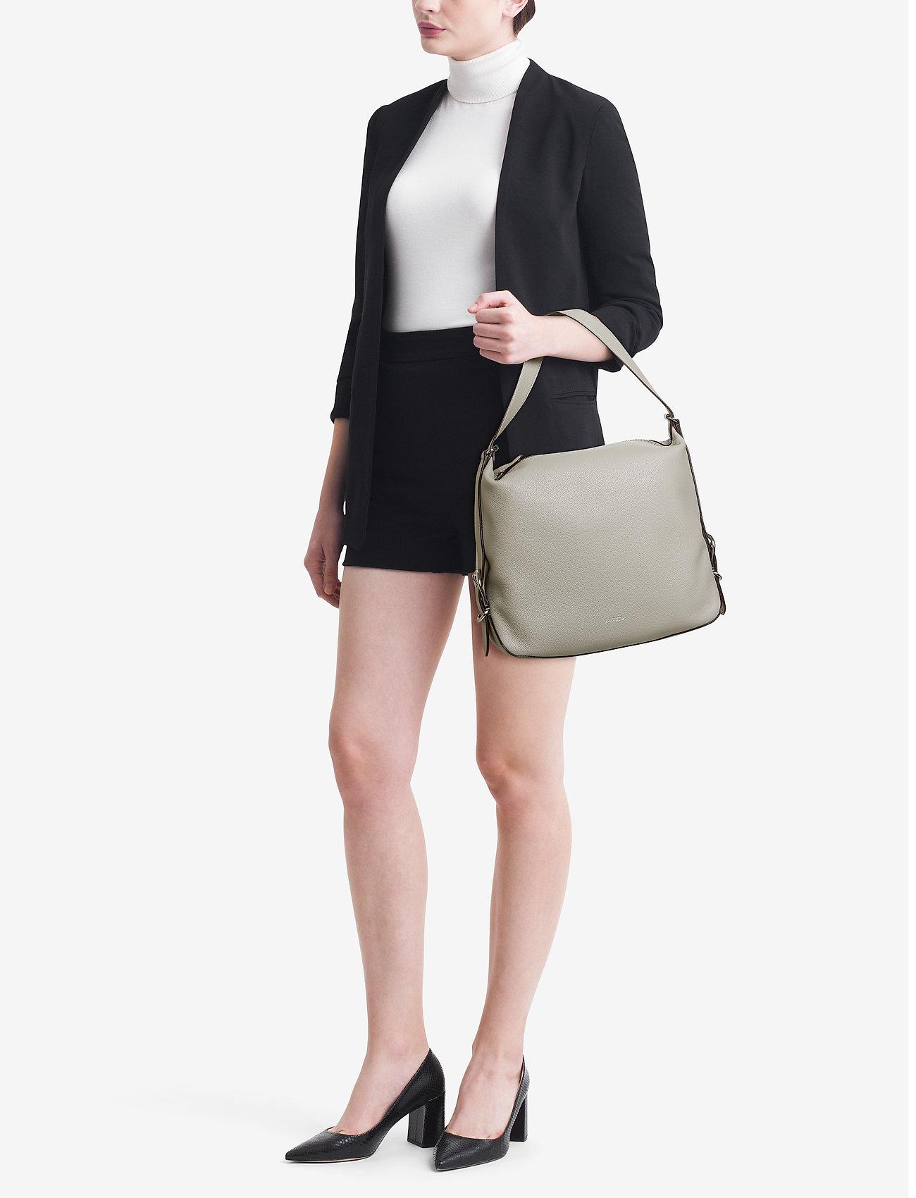 Leather Slouch Hobo Bag