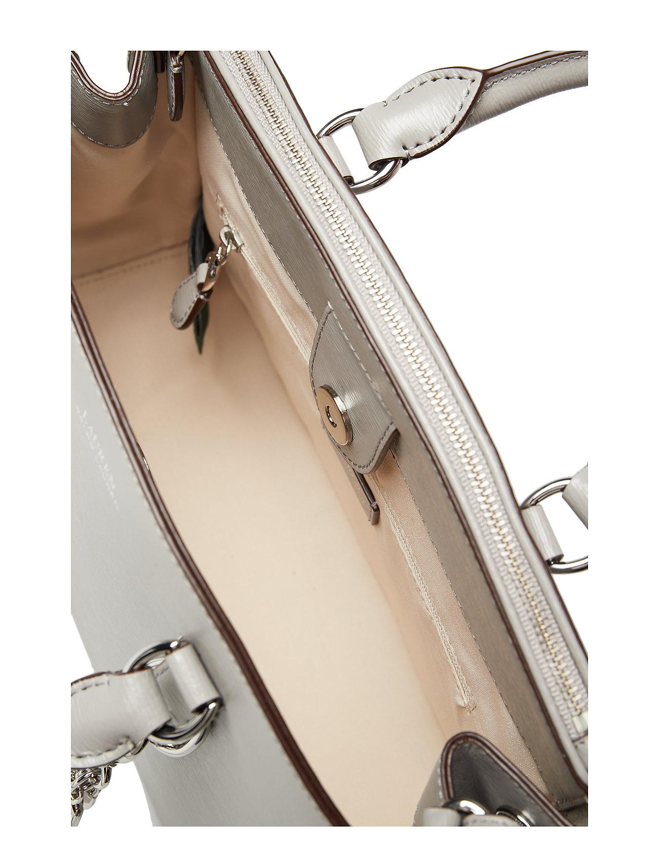 Mini Satcheldriver Saffiano GreyLauren Ralph Leather ynwvNm80O
