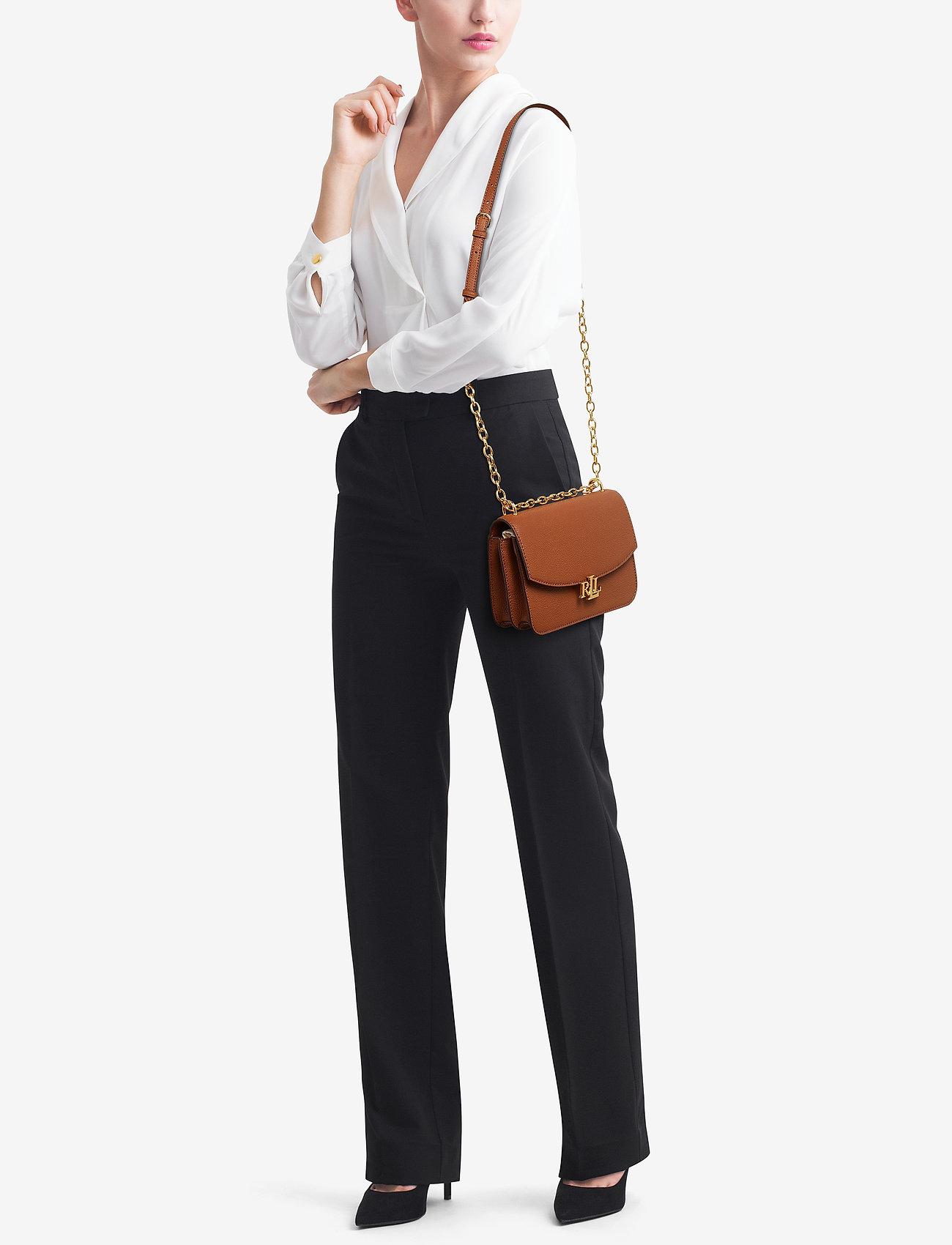Lauren Ralph Lauren Medium Leather Crossbody Bag - LAUREN TAN