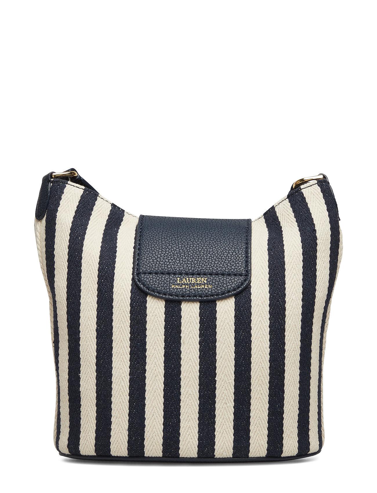 ivory Striped Bagnavy Ralph StripeLauren Bucket OnPN80kXw