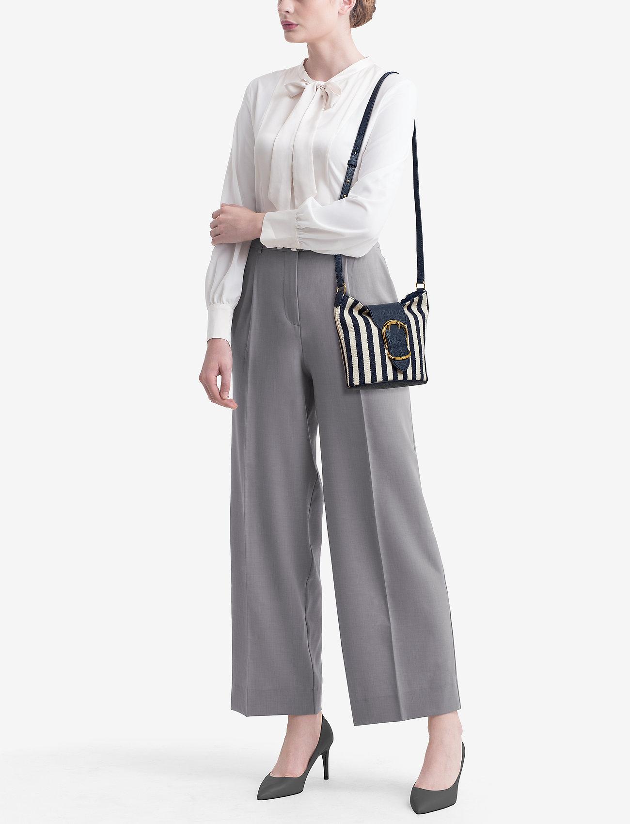 Lauren Ralph Lauren Striped Bucket Bag