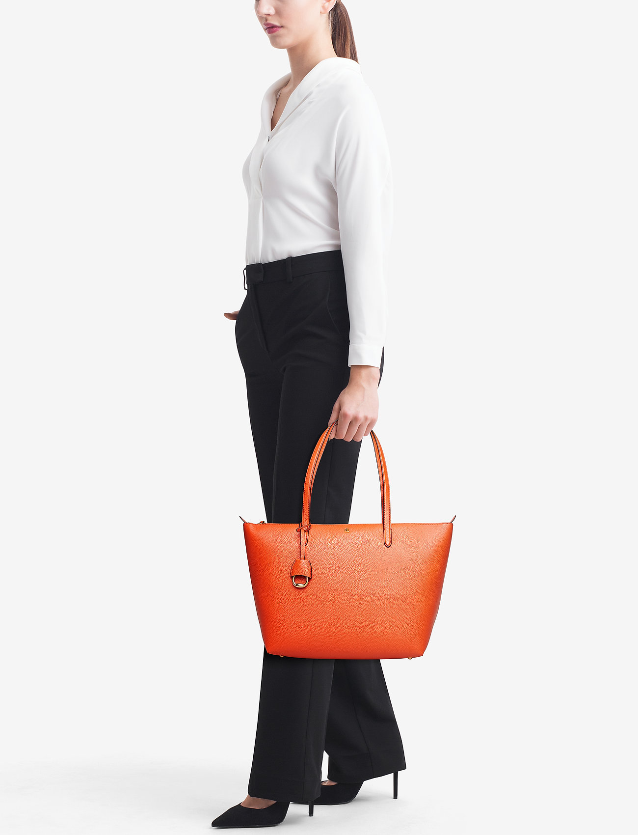 Lauren Ralph Lauren Faux-Leather Keaton Tote