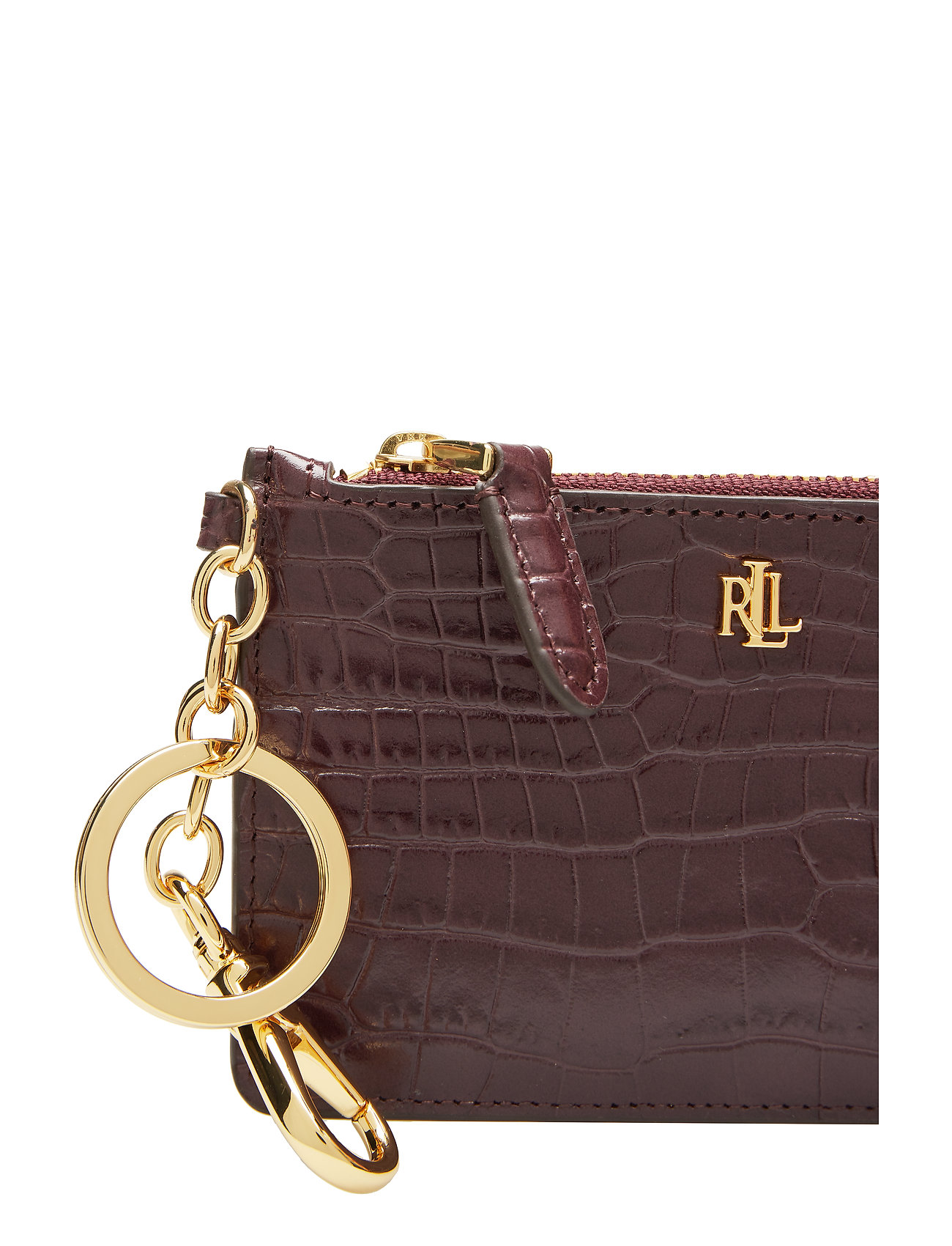 Ralph Zip Card Leather CasebordeauxLauren Leather uTc3Kl1FJ