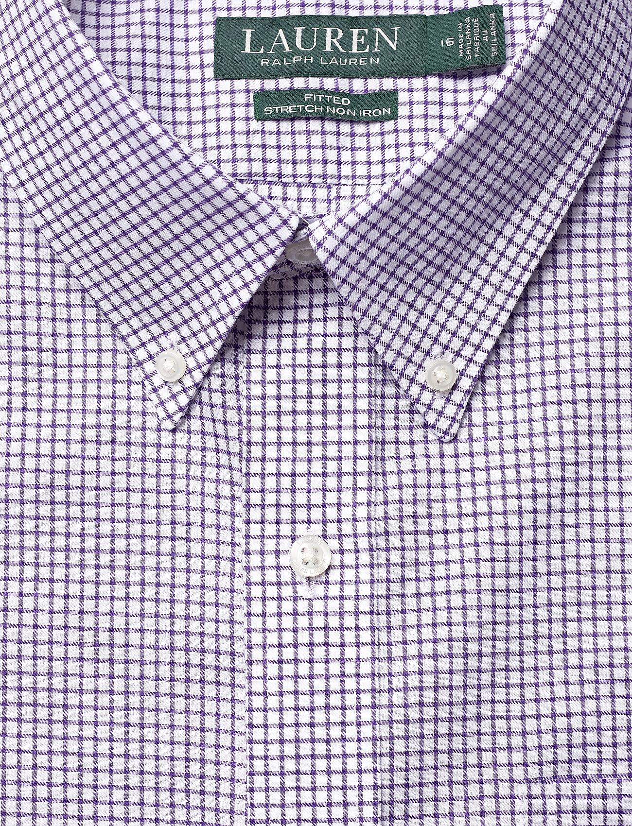 Ft Bd Pkt Lo-dress Shirt (5526b White/ Roya) (419.40 kr) - Lauren Ralph Lauren