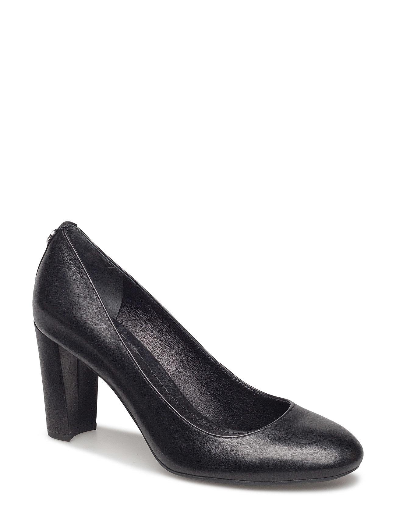 Lauren Ralph Lauren Maddie Leather Pump - BLACK
