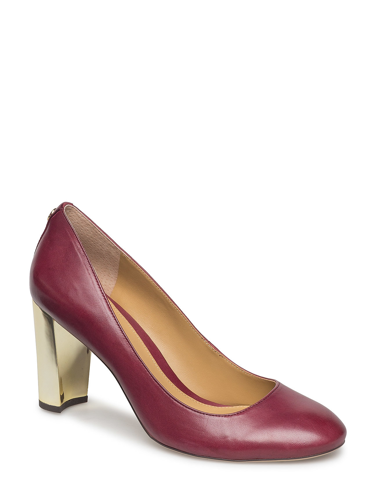 Lauren Ralph Lauren Maddie Leather Pump