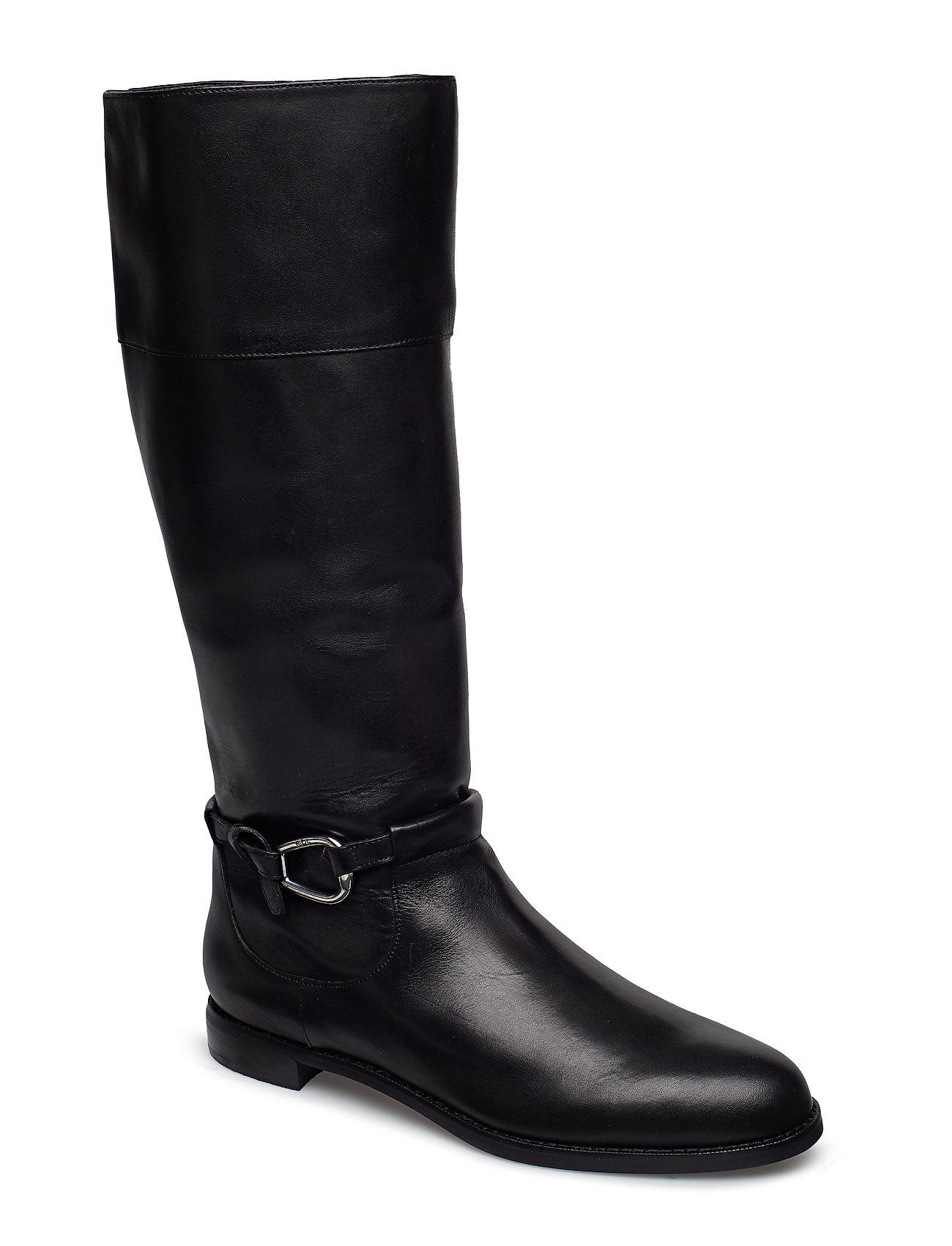 Lauren Ralph Lauren Harlee Leather Boot