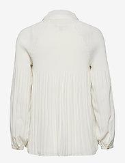 Lauren Ralph Lauren - Georgette Tie-Neck Top - blouses à manches longues - mascarpone cream - 1