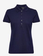 Lauren Ralph Lauren - Piqué Polo Shirt - poloskjorter - french navy - 1