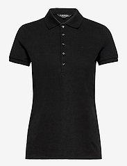 Lauren Ralph Lauren - Piqué Polo Shirt - poloskjorter - polo black - 1
