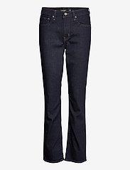 Lauren Ralph Lauren - Premier Straight Jean - flared jeans - dark rinse wash d - 0