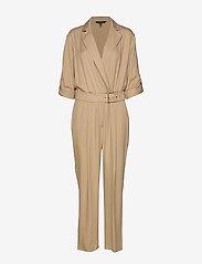 Lauren Ralph Lauren - TENCEL TWILL-JUMPSUIT - buksedragter - spring khaki - 0