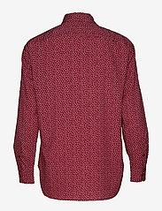 Lauren Ralph Lauren - POLY CDC-LSL-SHT - blouses à manches longues - dark raspberry mu - 1