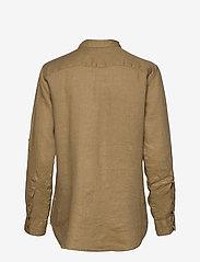 Lauren Ralph Lauren - Linen Shirt - langærmede skjorter - spring khaki - 2