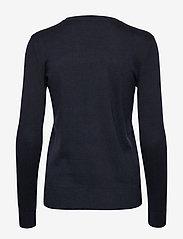 Lauren Ralph Lauren - Beaded-Logo Cotton Sweater - swetry - lauren navy - 1