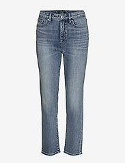 Lauren Ralph Lauren - Premier Straight Ankle Jean - proste dżinsy - light indigo wash - 0