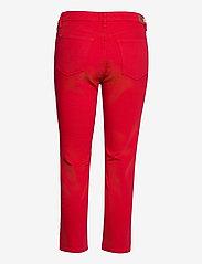 Lauren Ralph Lauren - Premier Straight Crop Jean - slim jeans - bold red wash - 2