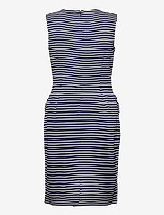 Lauren Ralph Lauren - Button-Trim Ponte Dress - stramme kjoler - lauren navy/pale - 2