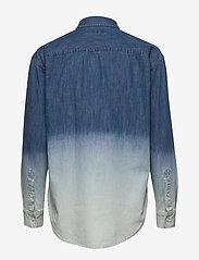 Lauren Ralph Lauren - Ombré Denim Shirt - jeansblouses - dipped indigo was - 2