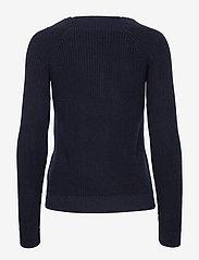 Lauren Ralph Lauren - Ribbed Cotton Sweater - trøjer - lauren navy - 2