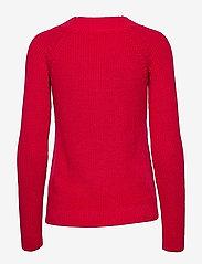 Lauren Ralph Lauren - Ribbed Cotton Sweater - trøjer - orient red - 2
