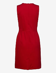 Lauren Ralph Lauren - Button-Trim Ponte Dress - midi kjoler - orient red - 2