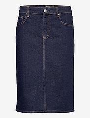 Lauren Ralph Lauren - Denim Skirt - jeanskjolar - rinse wash - 0