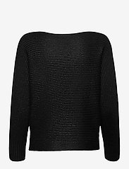 Lauren Ralph Lauren - Dolman-Sleeve Boatneck Sweater - pulls - polo black lurex - 2