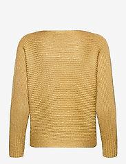 Lauren Ralph Lauren - Dolman-Sleeve Boatneck Sweater - pulls - shiny gold lurex - 2