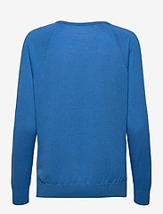 Lauren Ralph Lauren - Modal-Silk V-Neck Sweater - pulls - captain blue - 2