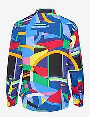 Lauren Ralph Lauren - Print Crepe Shirt - chemises à manches longues - polo black multi - 2