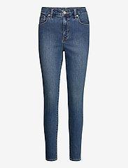 Lauren Ralph Lauren - High-Rise Skinny Ankle Jean - jeans skinny - ocean blue wash - 1