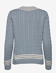 Lauren Ralph Lauren - Logo Cricket Sweater - pulls - dust blue/ mas cr - 2