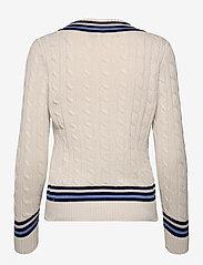 Lauren Ralph Lauren - Logo Cricket Sweater - pulls - mascrm/fnvy/cbl - 2