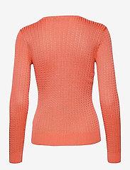 Lauren Ralph Lauren - Cable-Knit Crewneck Sweater - trøjer - coral quartz - 2