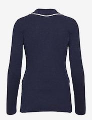 Lauren Ralph Lauren - Bullion Combed Cotton Blazer - vestes casual - french navy/ whit - 2