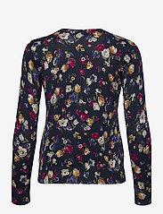 Lauren Ralph Lauren - Floral Cotton-Modal Sweater - trøjer - french navy multi - 2