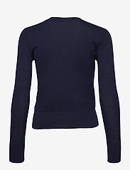 Lauren Ralph Lauren - Cotton-Modal Cardigan Sweater - gilets - french navy - 2